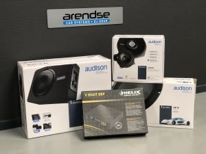 Audio upgrade set Helix en Audison