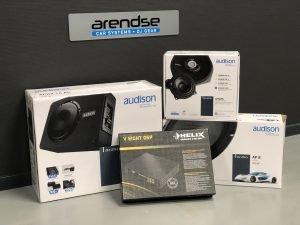 Audio upgrade set Helix en Audison